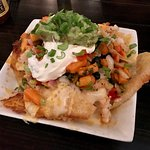 Incredible wonton Nachos