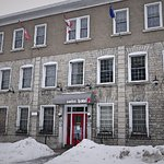 Hotel is located in an updated historical building in downtown Ottawa.