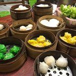 Delicious dumplings. Setting typical local but food exquisite. Don't judge the looks, just try t