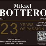 Amazing hotel with professional staff and a great hairdresser's salon Mikael Bottero on B2 level