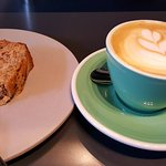 The best coffee I've ever had! (And the banana cake is amazing)