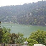View of Naini Lake from Hotel.