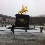 Goldener Reiter Foto