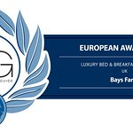 Luxury Travel Guide Award Winner!