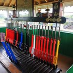 Brading Museum old signal box