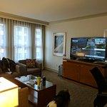 1 bedroom suite- Living room