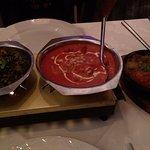 Saag Aloo, Chicken Tikka Masala & Lamb Karahi