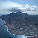 Montserrat aus der Luft