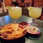Terrific margaritas, chips & salsa!