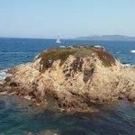 au bout de la presqu'île de Giens (à 10 mn à pied de la réception du club)