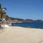 Beach at La Isla Huatulco