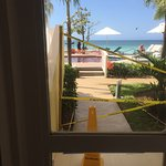 Beautiful place great staff disappointed with attitude of Rep our sea view room turned into mini
