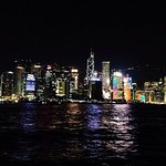Gorgeous view from the ferry at night
