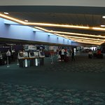 Ticket counters at Daytona terminal (Love it)