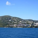 As seen from the Ferry to Tortola.