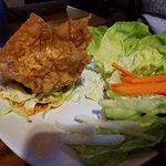 Thai Chicken Lettuce Wraps $7