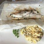 Baked fish