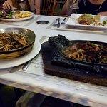 food was delicious!!
