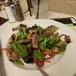 Carne asada ensalada