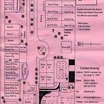 Map of the Amoray facility from provided brochure