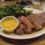 London Broil with Broccoli