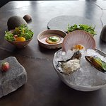 Amuse - Quail Egg, Wallaby, Clam, Oyster, Scallop and more!