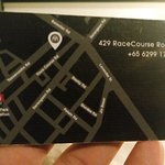 Microchipped Key Card with a Map on it.