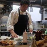 Chef Masa at work