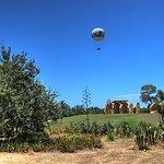 The Baloon over the Stones Garden