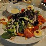 Beilagensalat zur Fleischplatte
