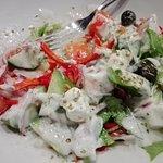 Very nice greek salat 😃