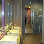 Communal toilet/handwash area!