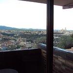 Vista desde la terraza de la habitación.