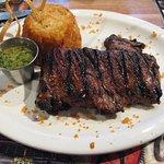 skirt steak and mufongo