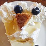 Key Lime Pie!!! try it--its unbelievable