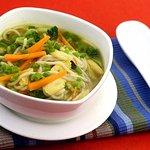 Vegetable Noddle Soup