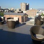 Terraço no alto do hotel