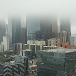 The view from City Hall on a damp day with low cloud!