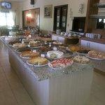Nosso buffet cheio de delícias!