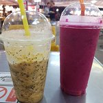 Fruit Shakes - Passionfruit and dragonfruit