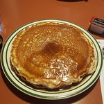 These were the HUGE pancakes for breakfast