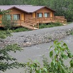 Creek side cabins