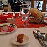 Lunch at saffron