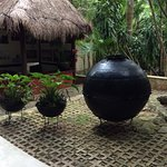 peaceful water fountains