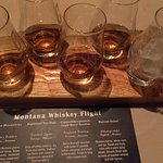 Montana whiskey flight