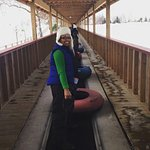 snow tubing for my daughter's birthday