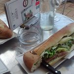 L'Annexe - Parisian and Italian rolls...YUM! 800 Francs each and worth every cent