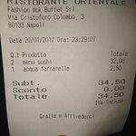 Discreto sushi ad un prezzo ragionevole. Formula all u can eat.