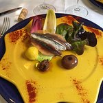 Tosta de Ahumados cortesia de Chef