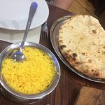 pilau and naan